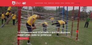 Página Web de Colegio